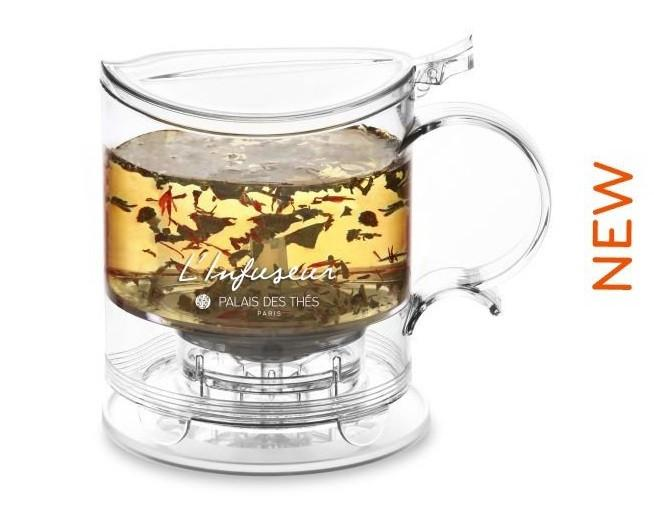 TRANSPARENT TEA BREWER
