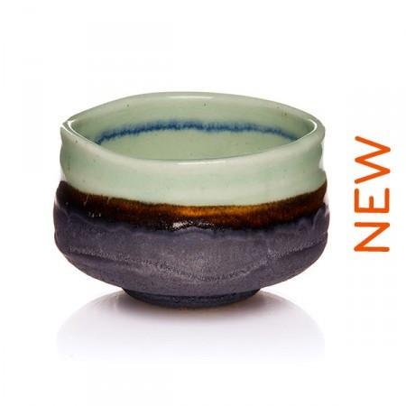 « CHAWAN » LAGOON JAPANESE CEREMONIAL BOWL